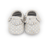 CoCoCute Baby Moccasins Soft Leather Sole Infant Shoes and Toddler Moccasins For Boys and Girls